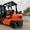 Автопогрузчик/автонавантажувач Toyota с мачтой триплекс  и боковым смещением