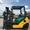 Газ-бензиновый вилочный погрузчик Komatsu с боковым смещением - Изображение #3, Объявление #1696555