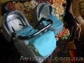 Льняная детская коляска Adamex Enduro 2 в 1,  б/у - 10 месяцев