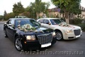 К Вашим услугам черный и белый автомобиль CHRYSLER 300C на свадьбу